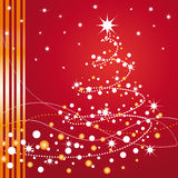 Beautiful Christmas tree Royalty Free Stock Images