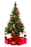 Beautiful Christmas tree Stock Photos