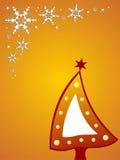Beautiful christmas tree background Royalty Free Stock Photo