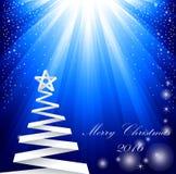 Beautiful Christmas tree  Stock Photos