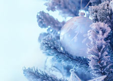 Beautiful Christmas tree decoration Royalty Free Stock Photography