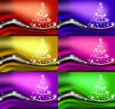 Beautiful Christmas tree illustration Royalty Free Stock Photo