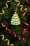 Beautiful Christmas-tree toy Royalty Free Stock Photography