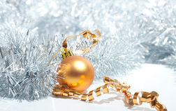 Beautiful Christmas tree toy Stock Images