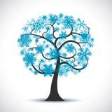 Beautiful christmas tree - vector. Beautiful christmas tree - stock vector royalty free stock image