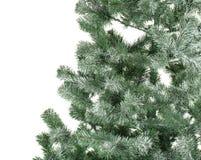 Beautiful Christmas tree on white background. Celebration time Royalty Free Stock Photography