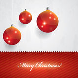 Beautiful Christmas Vector Background Royalty Free Stock Image