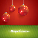 Beautiful Christmas Vector Background Royalty Free Stock Photos