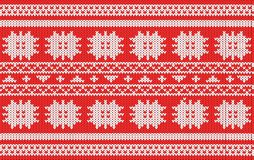 Christmas wallpaper pattern Stock Photography
