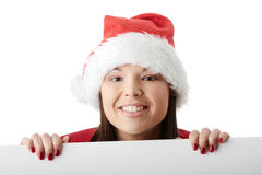 Beautiful christmas woman Royalty Free Stock Photo