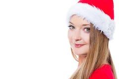 Beautiful Christmas woman Stock Photography