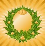 Beautiful christmas wreath Royalty Free Stock Photography