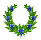 Beautiful christmas wreath Royalty Free Stock Photos