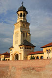 Beautiful church in Alba Iulia, Romania Royalty Free Stock Image