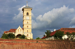 Beautiful church in Alba Iulia, Romania Stock Image