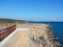 Beautiful church apostolos andreas in karpasia peninsula Stock Image