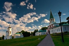 Beautiful Church of the Ascension in summer sunny day. Royalty Free Stock Photo