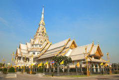 The beautiful church. In Chacheongsao, Thailand Royalty Free Stock Photo