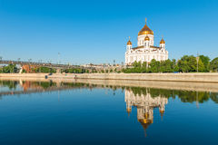 Beautiful church of Christ the Savior Royalty Free Stock Images