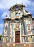 Beautiful church of Cuneo Stock Image
