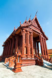 Beautiful church decorated from terra-cotta Stock Photos