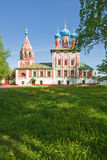 Beautiful church in forest Royalty Free Stock Image