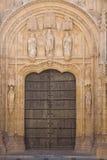 Beautiful church gate Stock Photo