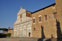 Beautiful church on a hill of Florence - San Miniato al Monte Stock Photo