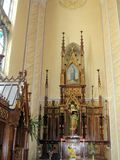 Beautiful church interior, Lithuania Royalty Free Stock Photography
