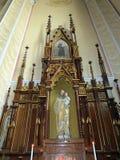 Beautiful church interior, Lithuania Stock Photos