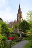 A beautiful church in Interlaken, Switzerland Royalty Free Stock Image