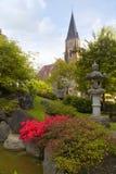 A beautiful church in Interlaken, Switzerland Royalty Free Stock Photography