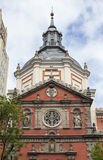 Beautiful church in Madrid Royalty Free Stock Photography