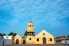 Beautiful Church in Mompox Royalty Free Stock Photography