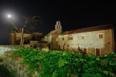 Beautiful church at night Royalty Free Stock Photography
