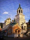 Beautiful church in Nizhny Novgorod Stock Photography