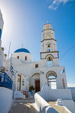 Beautiful church in Pyrgos Royalty Free Stock Images