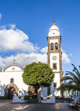 Beautiful church of San Gines in Arrecife Royalty Free Stock Photo