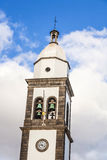 Beautiful church of San Gines in Arrecife Stock Images