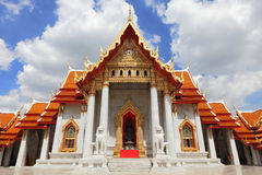 Beautiful church of temple in Thailand Royalty Free Stock Photography