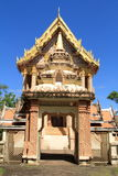 Beautiful church of Thai temple Royalty Free Stock Photography