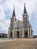 Beautiful church in Thailand. Public place Royalty Free Stock Photography