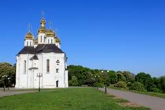 Beautiful church in Ukraine Royalty Free Stock Image