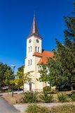 Beautiful Church - Vrbice, Czech Republic. Europe Stock Image