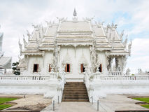 Beautiful church of Wat Rong Khun temple in Chiangrai, Thailand 2 Royalty Free Stock Image