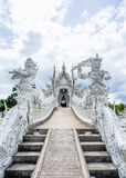 Beautiful church of Wat Rong Khun temple in Chiangrai, Thailand 3 Royalty Free Stock Photos