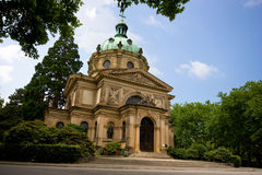 Beautiful churche. Beautiful old churche at Freiburg Royalty Free Stock Photography