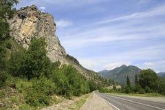 Beautiful Chuysky Trakt in Altai Mountains Stock Photography