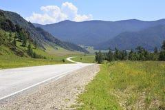 Beautiful Chuysky Trakt in Altai Mountains Royalty Free Stock Photos