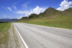 Beautiful Chuysky Trakt in Altai Mountains Royalty Free Stock Photography